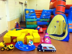 8x8 in hall with soft play