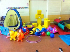 soft play hall on own